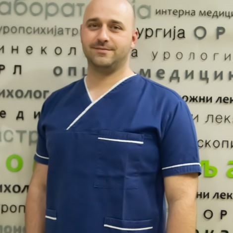 Viši fizioterapeut Nenad Jeremić